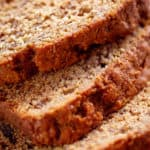 Moist banana bread sliced: the best soft bread to go with your morning coffee | craveitall.com